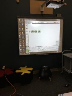 SMARTboard lego robotics