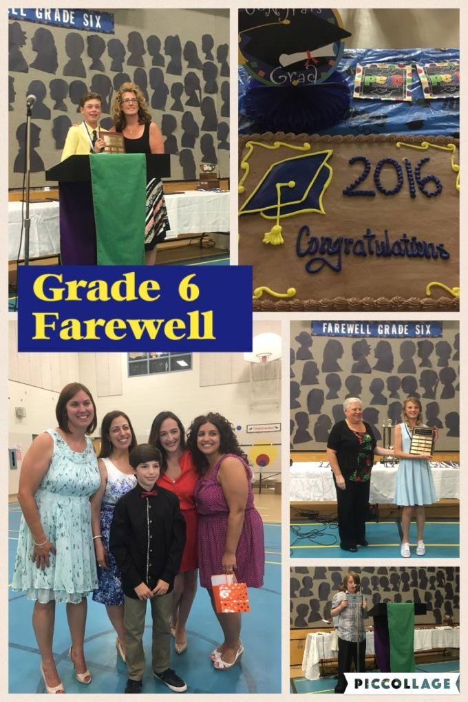 Grade 6 Farewell