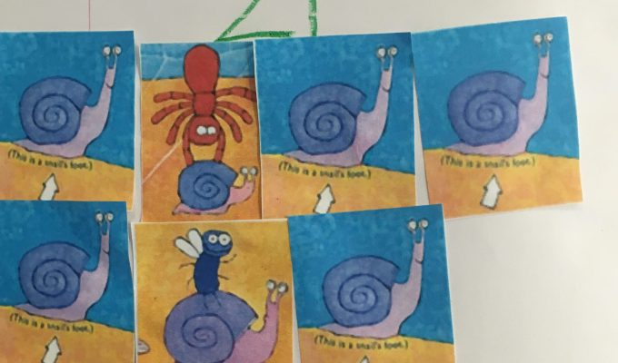 One is a snail, ten is acrab
