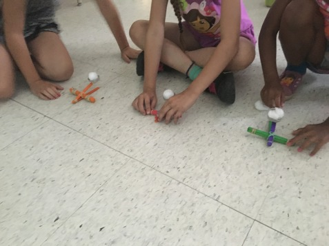 Testing catapults