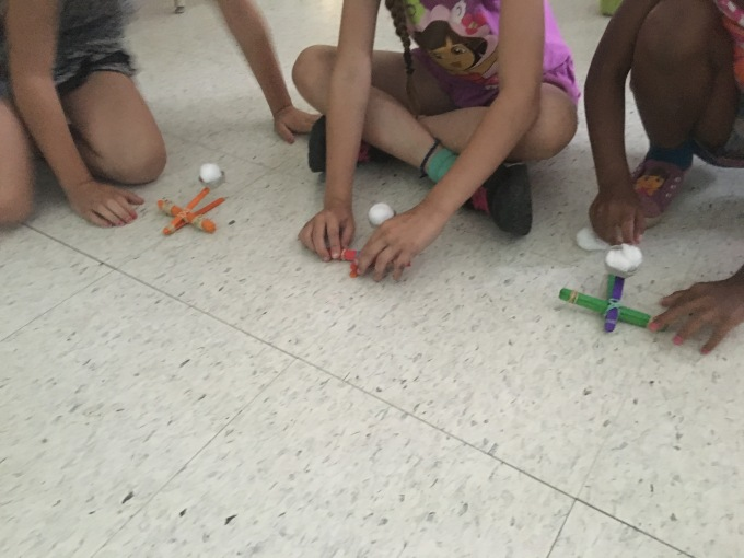 Measurement with catapults