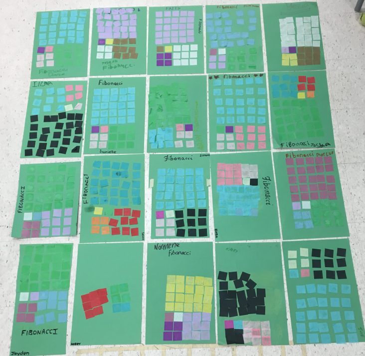 One pattern, many different colours!