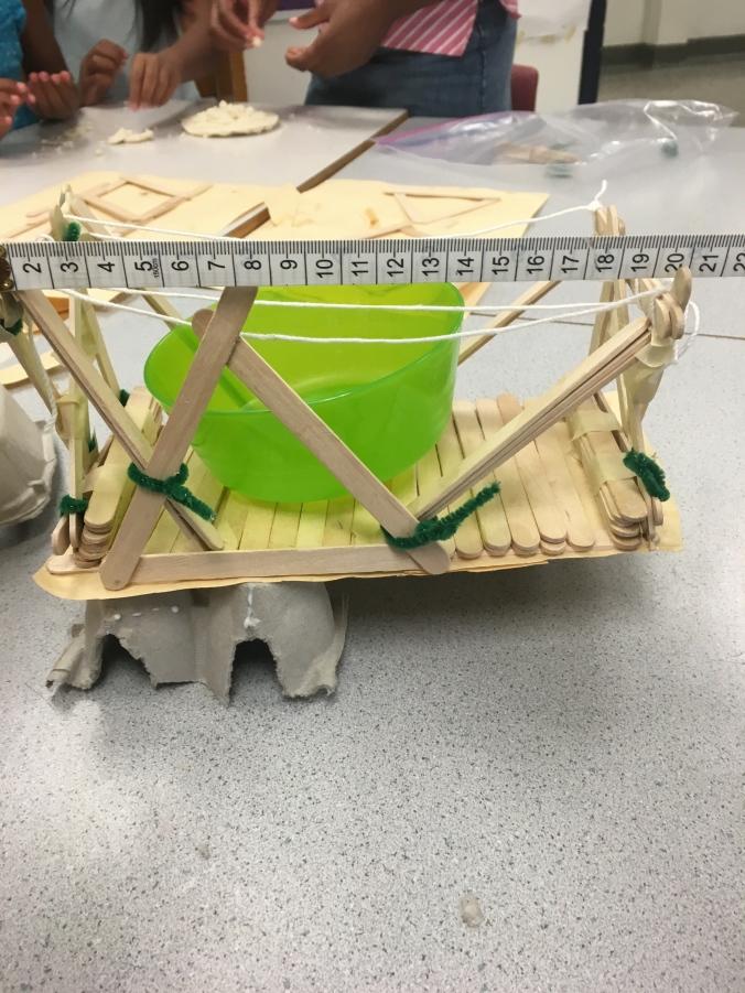 Measuring length of bridge