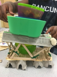How can we make our bridge more level?