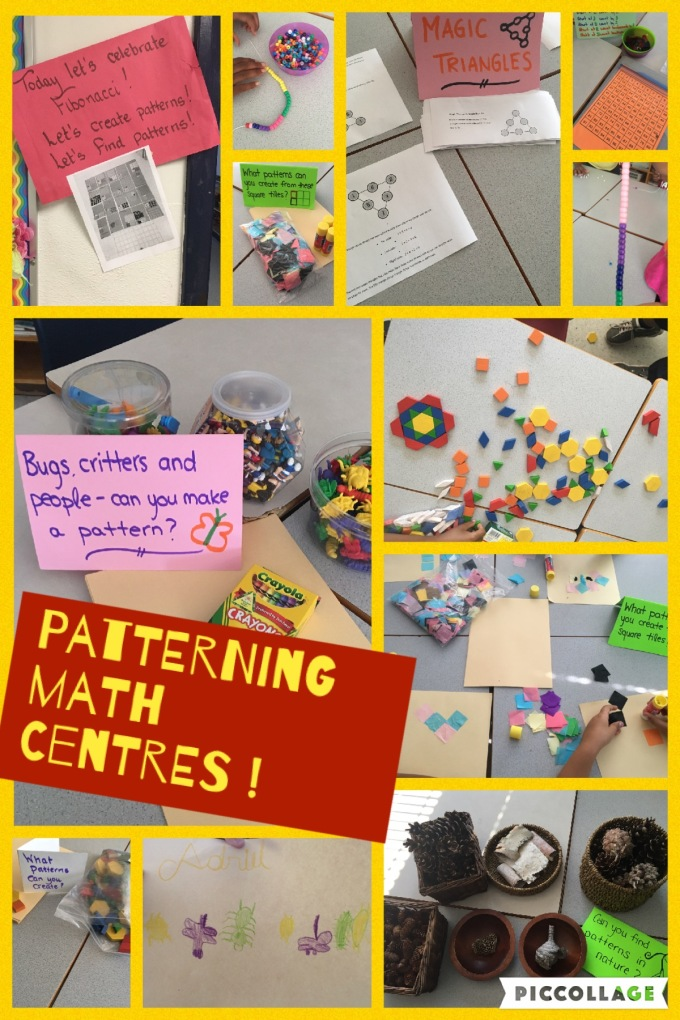Patterning centres
