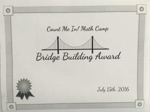 Bridge Building Award
