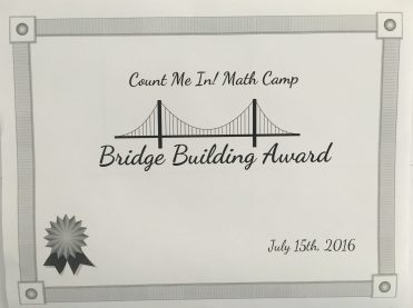 Bridge Building Award