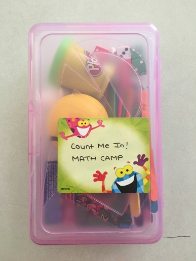 Count Me In! Math Camp take-home kits