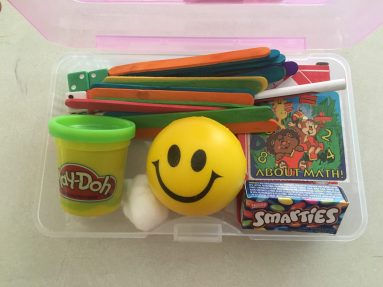 Math kit contents