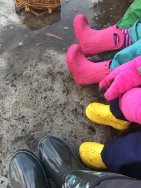 Rainboot weather
