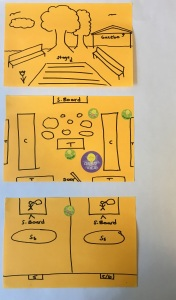 Storyboards with Heat Map