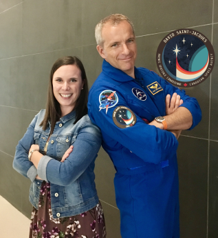 Dare to Explore: I Met an Astronaut!